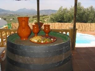paasvakantie, naar Spanje, huis met zwembad