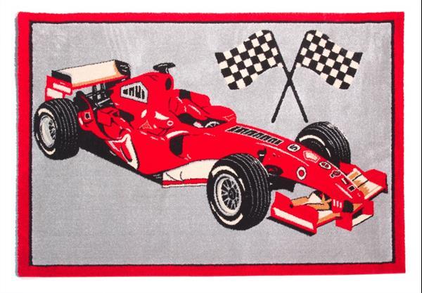 Tapijt Raceauto / Rood