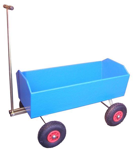 Bolderwagen voor verhuur- en recreatiebedrijven