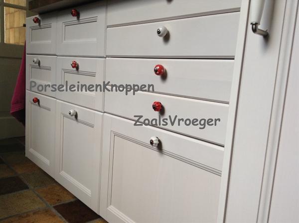 Nieuw Keuken kastknoppen deurknoppen en kastgrepen