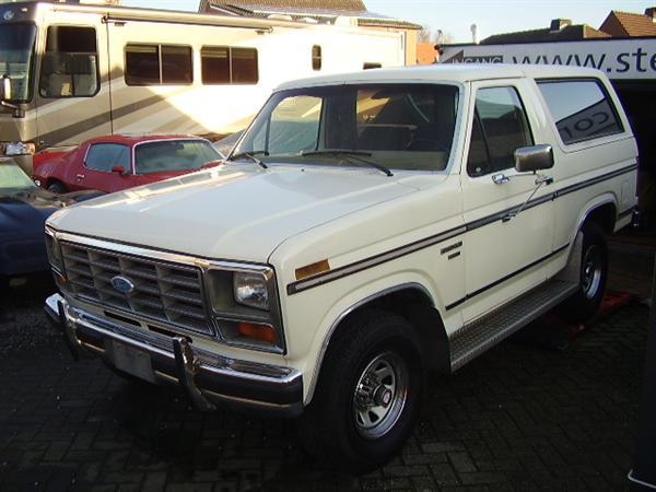 Ford Bronco Cabrio 4x4 1985