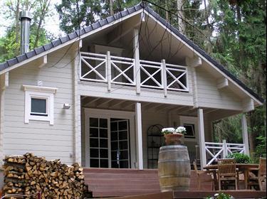 Nieuw  luxe chalet met sauna en jacuzzi