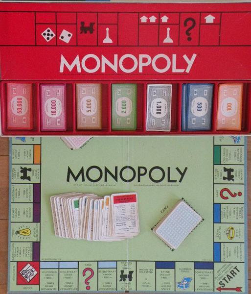 Monopoly met guldens.
