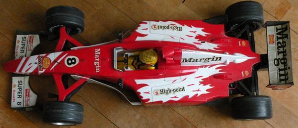 Race-auto. Heel groot.