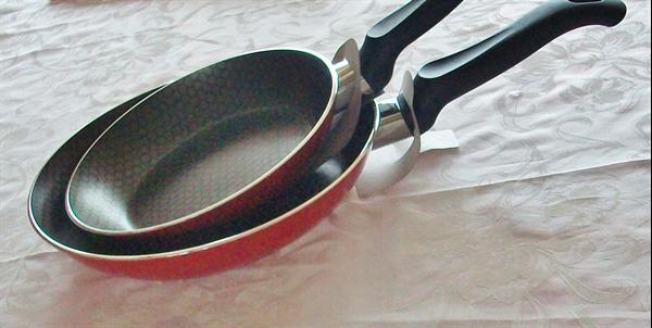 Nieuwe kookpannen, geen vet nodig Anti-baklaag