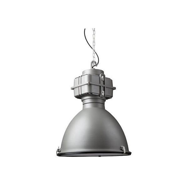 industry lamp mat grijs