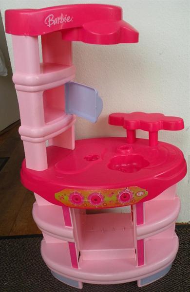 Keukentje Barbie.