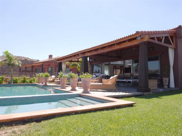Luxe villas huren aan golfbaan op Gran Canaria