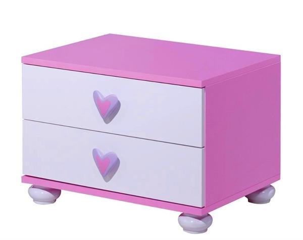 Daisy kindernachtkastje roze