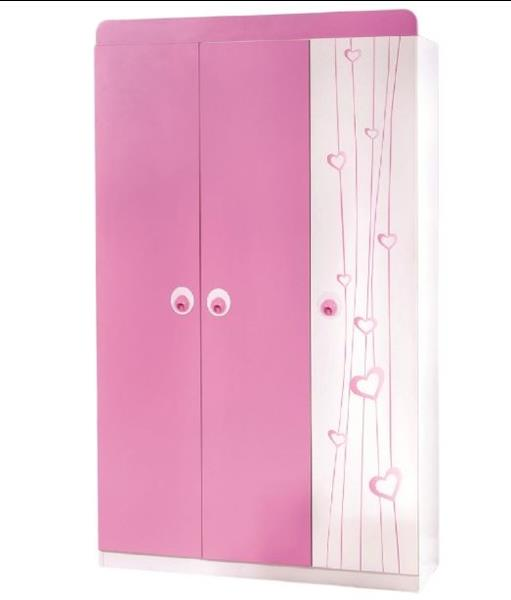 Lara kinderkledingkast 3 deurs voor de kinderkamer